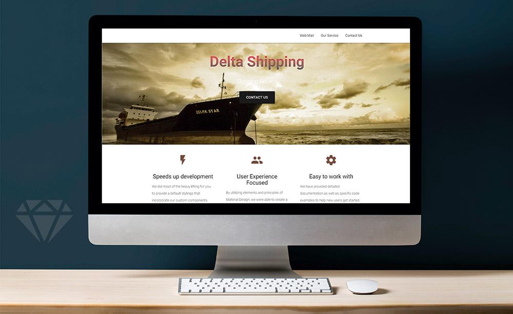طراحی سایت کشتیرانی
