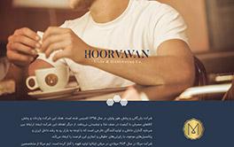 طراحی سایت شرکت Horvavan
