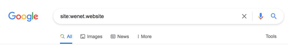 صفحهات ثبت شده در گوگل